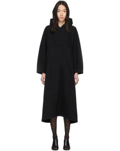 Платье макси с капюшоном платье-майка Balenciaga