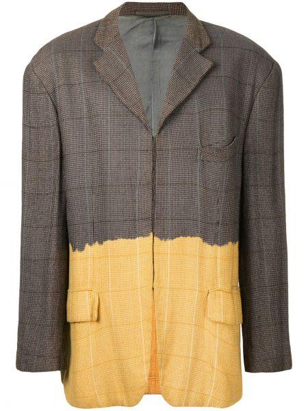Пиджак с карманами винтажный на пуговицах с лацканами Comme Des Garçons Pre-owned