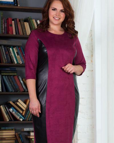 Кожаное платье азалия