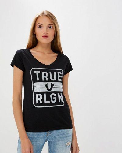 Черная футболка True Religion