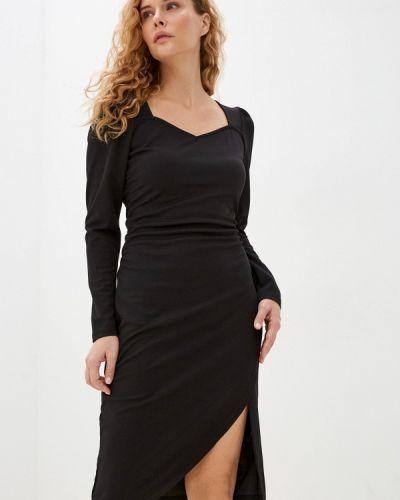 Платье футляр - черное Ichi