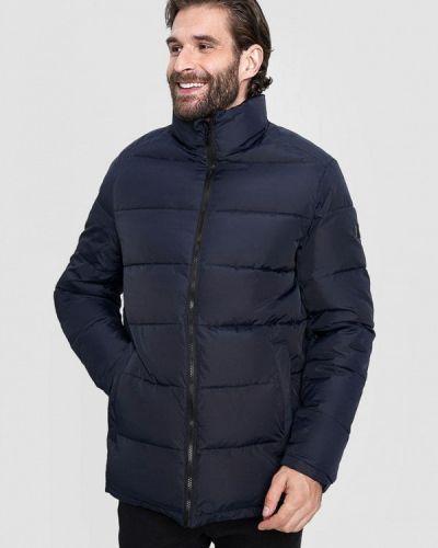 Теплая синяя куртка O'stin