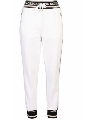 Спортивные брюки с карманами с манжетами Dolce&gabbana