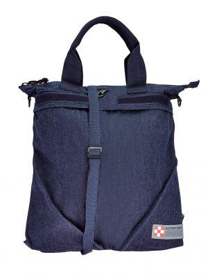 Синяя сумка летняя Mc2 Saint Barth