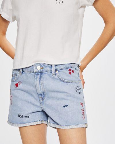 Прямые джинсы с вышивкой с эффектом потертости Pepe Jeans