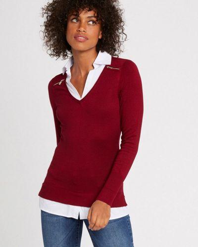 Красный пуловер Morgan