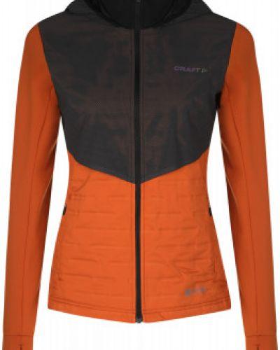 Прямая оранжевая куртка на молнии Craft
