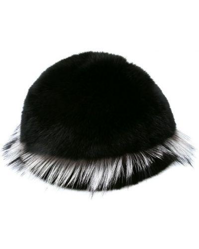Черная кепка Gigi Burris Millinery