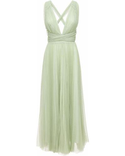 Платье миди из фатина Maria Lucia Hohan