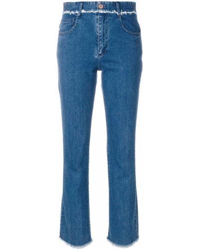 Прямые джинсы с карманами с поясом See By Chloe