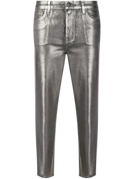 Укороченные брюки с карманами с поясом J Brand