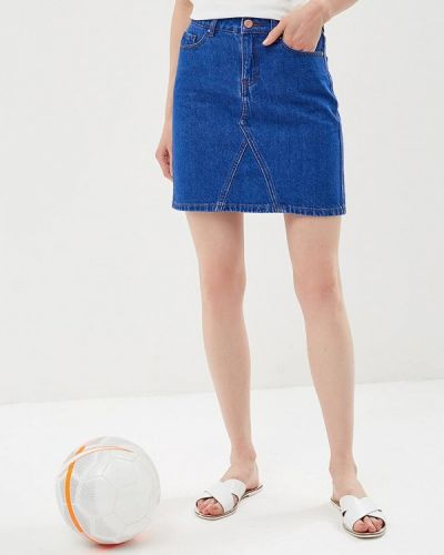 Юбка мини джинсовая осенняя Dorothy Perkins