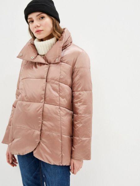 Розовая теплая куртка Zarina