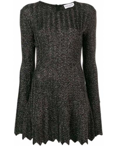 Платье макси длинное - черное Sonia Rykiel