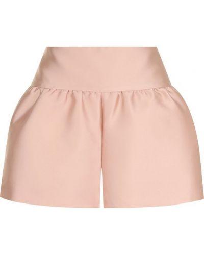 Короткие шорты шелковые с карманами Redvalentino