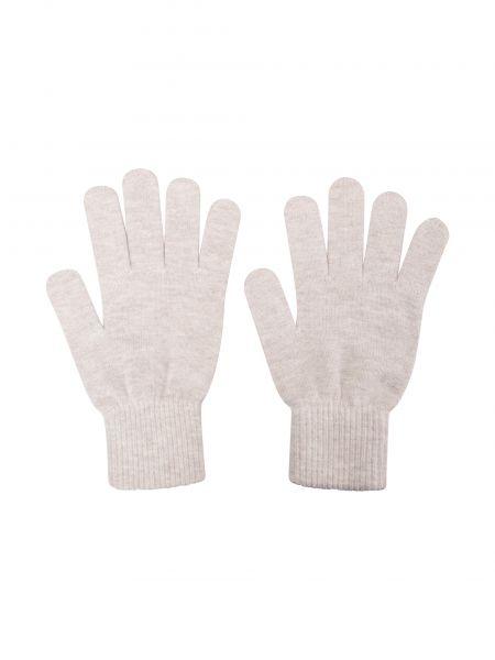 Beżowe ciepłe rękawiczki wełniane Mountain Warehouse