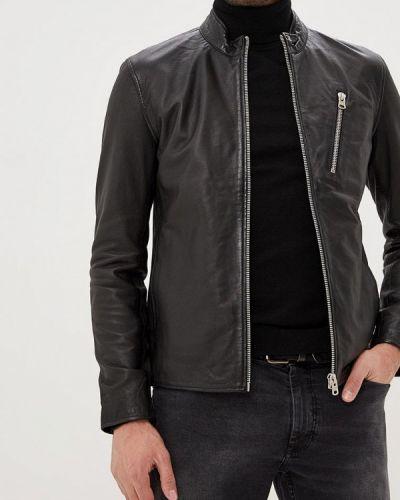 Кожаная куртка - черная Shine Original