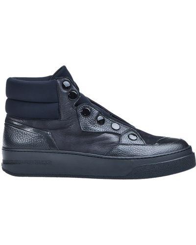 Кожаные ботинки осенние спортивные Bruno Bordese