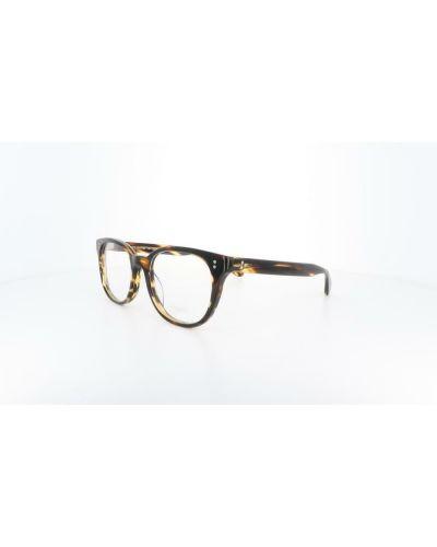 Brązowe okulary Oliver Peoples