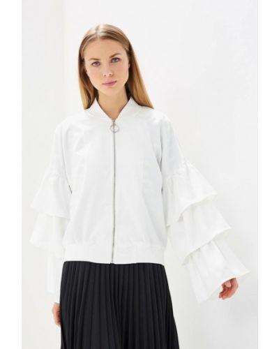 Куртка весенняя белая Brigitte Bardot