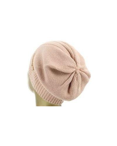 Розовая шапка шерстяная Patrizia Pepe