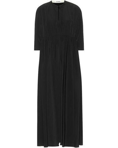 Поясное льняное платье Jil Sander