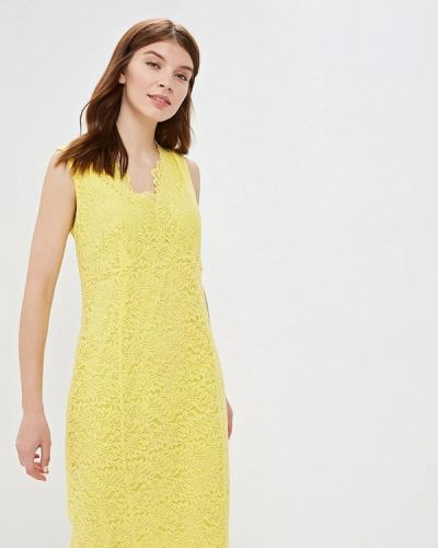 Повседневное платье весеннее желтый Wallis