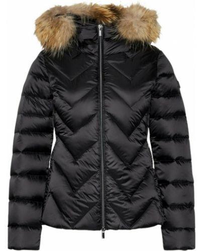 Czarny płaszcz Hetregò