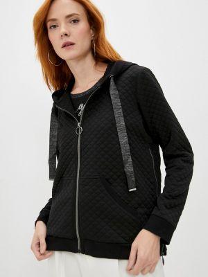 Черная зимняя футболка Elena Miro