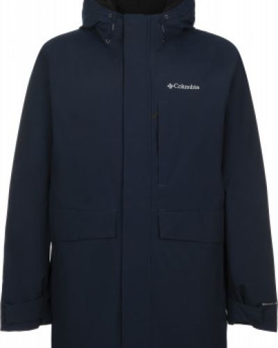 Утепленная синяя куртка на молнии Columbia