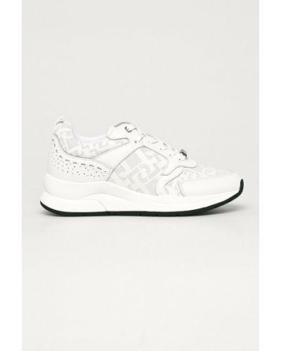 Ażurowe białe sneakersy sznurowane Liu Jo