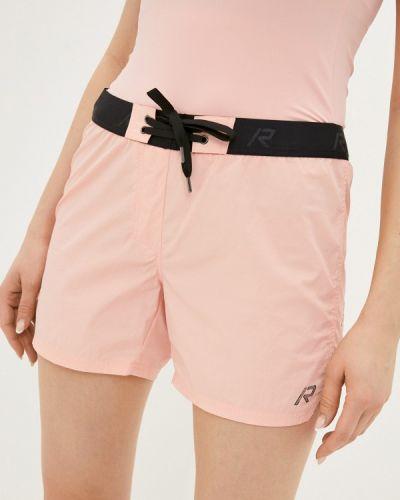 Розовые спортивные шорты Rukka