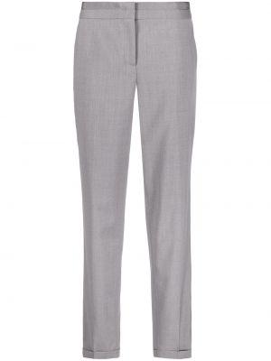 Шерстяные брюки - серые Fabiana Filippi