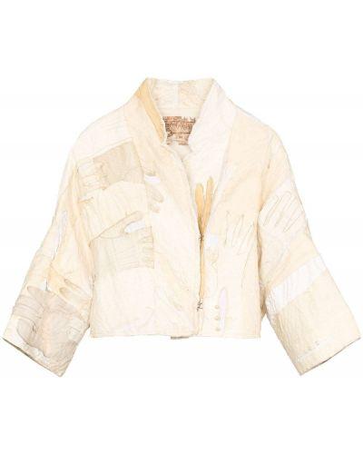 Короткая куртка пэчворк By Walid