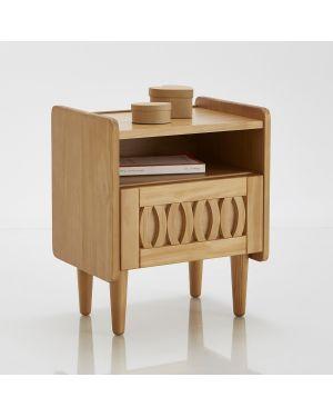 Стол барный из тика La Redoute Interieurs