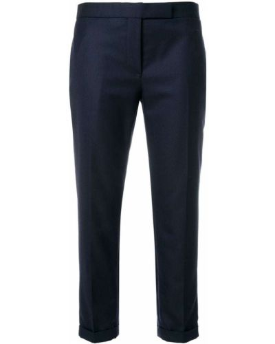 Классические брюки зауженные укороченные Thom Browne
