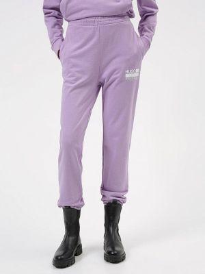 Фиолетовые брюки осенние Hugo