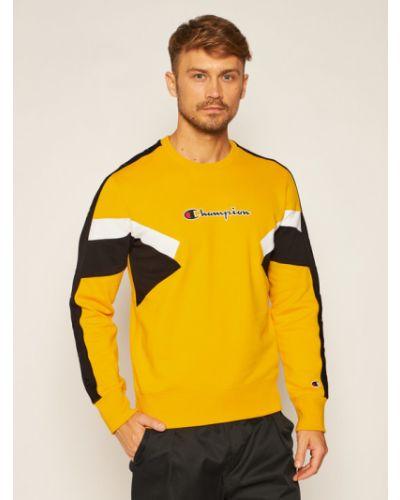 Bluza dresowa - żółta Champion