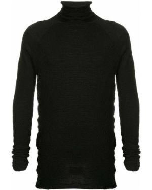 Черный свитер с рукавом реглан Forme D'expression