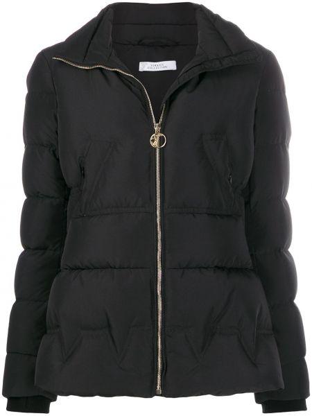 Черный пуховик Versace Collection