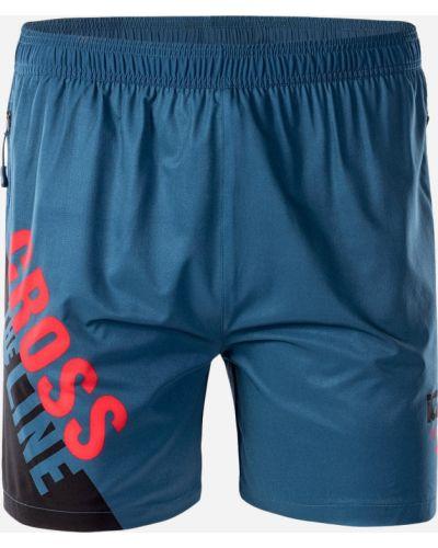 Синие спортивные спортивные шорты Iq