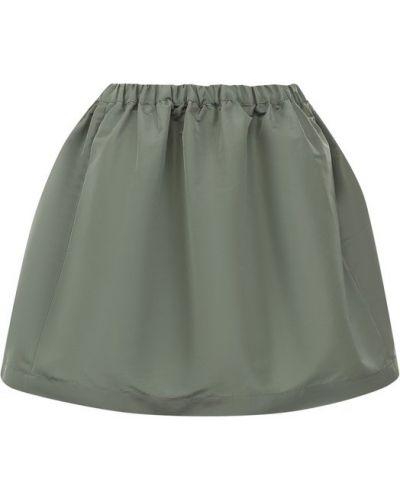 Зеленая юбка мини Redvalentino