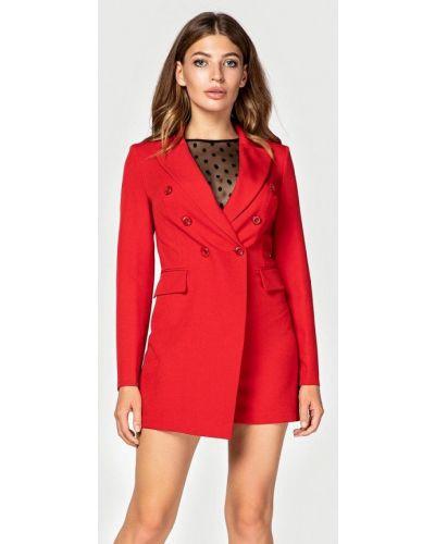 Комбинезон с шортами красный Itelle