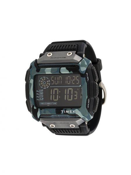 Часы водонепроницаемые прямоугольный камуфляжные Timex