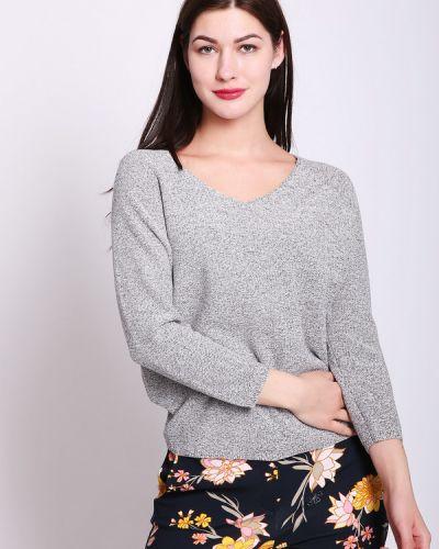 Пуловер серый Pezzo