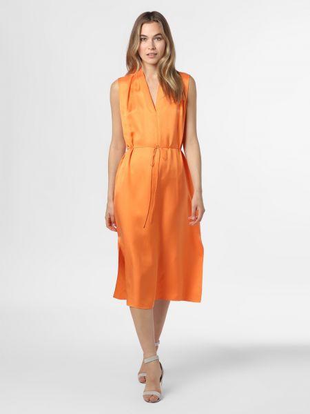 Pomarańczowa sukienka mini Ipuri