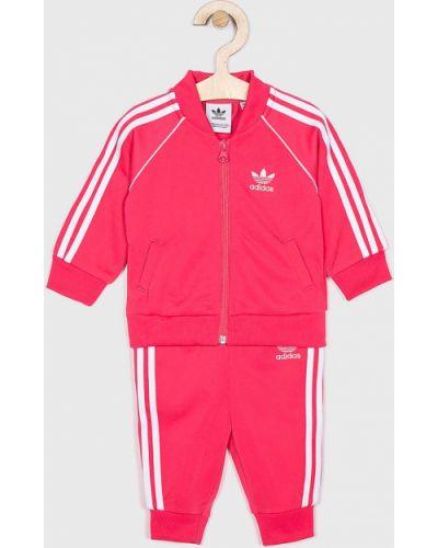 Розовый костюм Adidas Originals