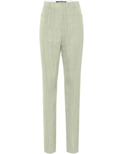 Zielony spodnie Jacquemus