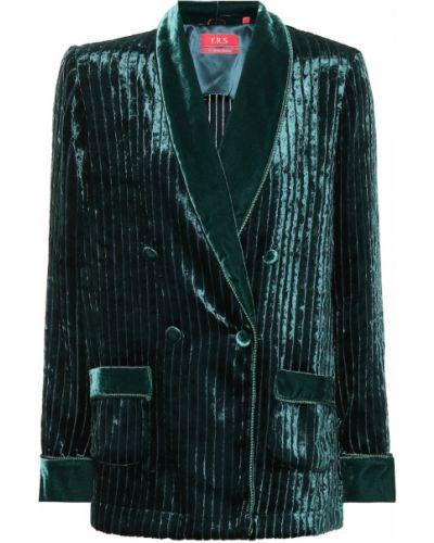 Зимняя куртка вельветовая бархатная F.r.s. For Restless Sleepers