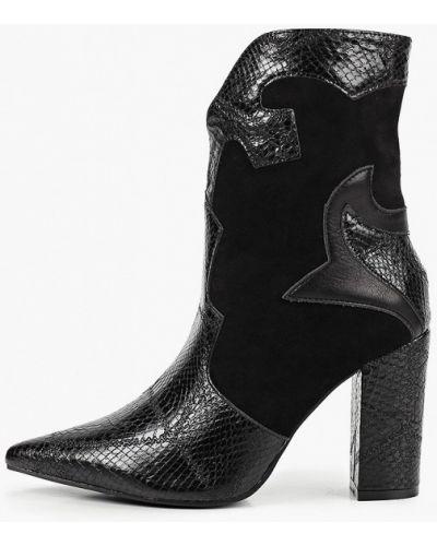 Кожаные черные пинетки Ideal Shoes